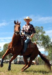 Campdrafting in the South Burnett